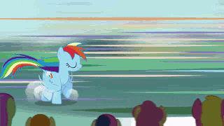 Rainbow Dash Struts it Out