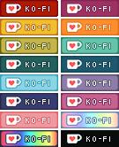 F2U Ko-Fi Buttons by Kerynean