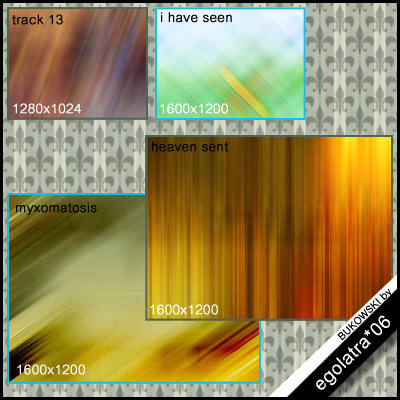 Bukowski Wallpaper Pack by egolatra