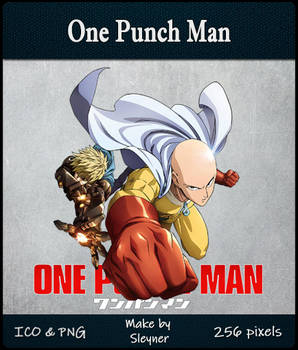 One Punch Man - Anime Icon Folder