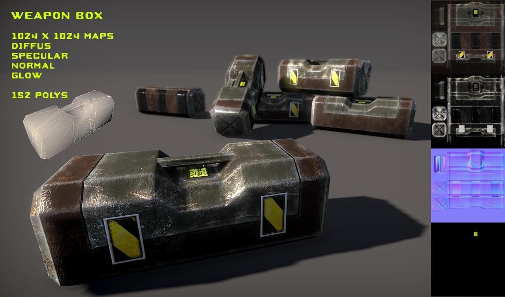 Free Ammo Box Pack by Yughues