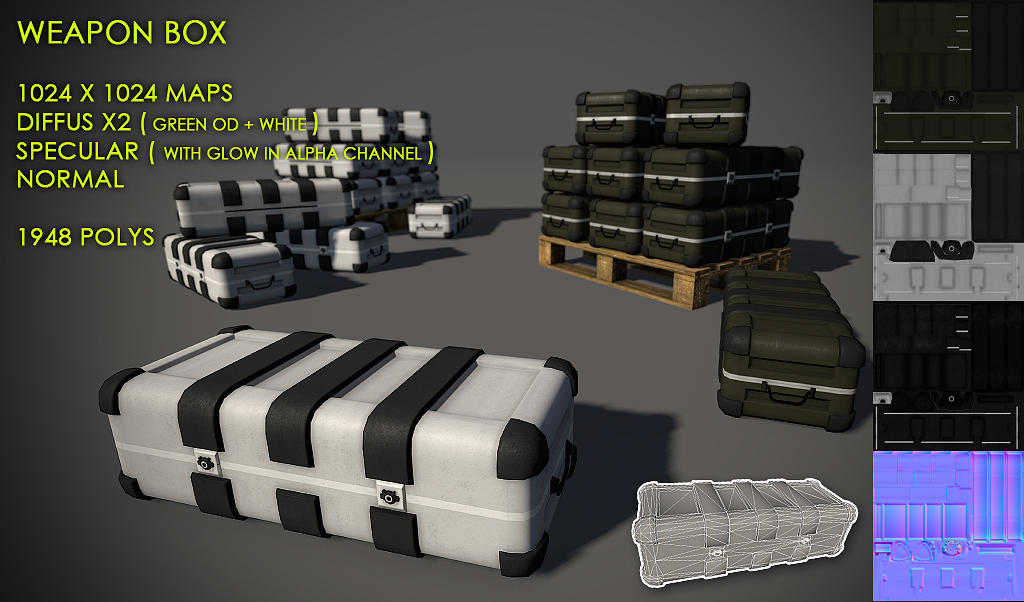 Free Weapon Box Pack by Nobiax