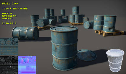 Free Fuel Can Pack by Yughues
