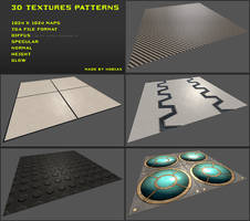 Free 3D textures pack 03 by Yughues