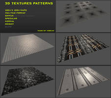 Free 3D textures pack 05 by Yughues