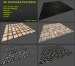 Free 3D textures pack 06