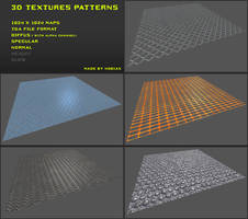 Free 3D textures pack 11 by Yughues