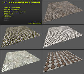 Free 3D textures pack 12