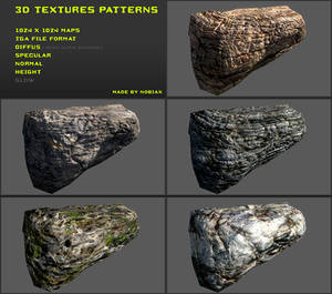 Free 3D textures pack 13