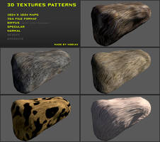 Free 3D textures pack 18 by Yughues