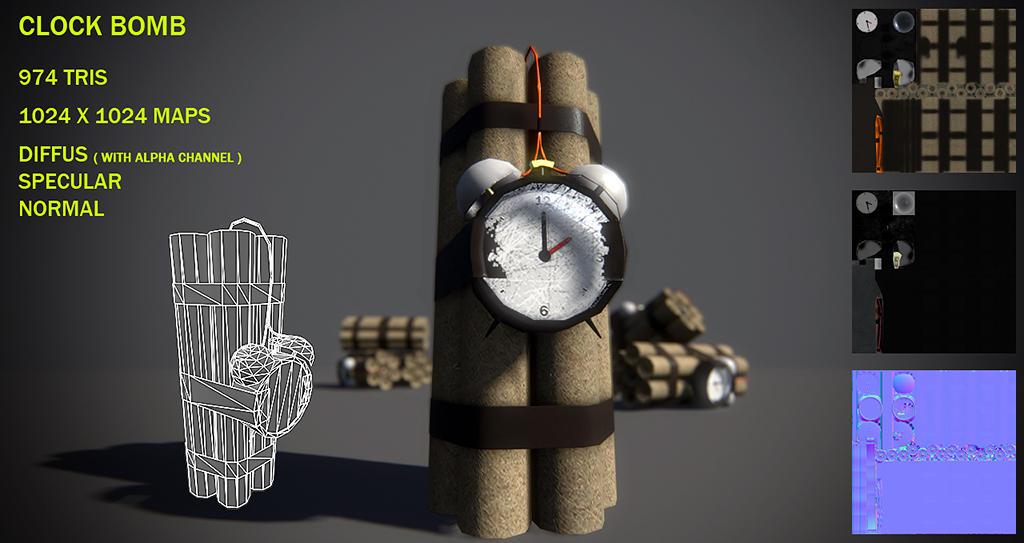 Clock bomb by Nobiax