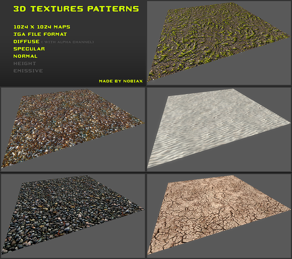 Free 3D textures pack 21 by Yughues on DeviantArt