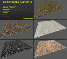 Free 3D textures pack 21 by Yughues