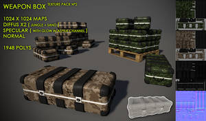 Weapon Box pack 2 by Yughues
