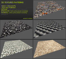 Free 3D textures pack 23 by Yughues