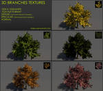 Free 3D branches textures 01