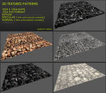 Free 3D textures pack 25