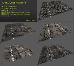 Free 3D textures pack 27 by Yughues