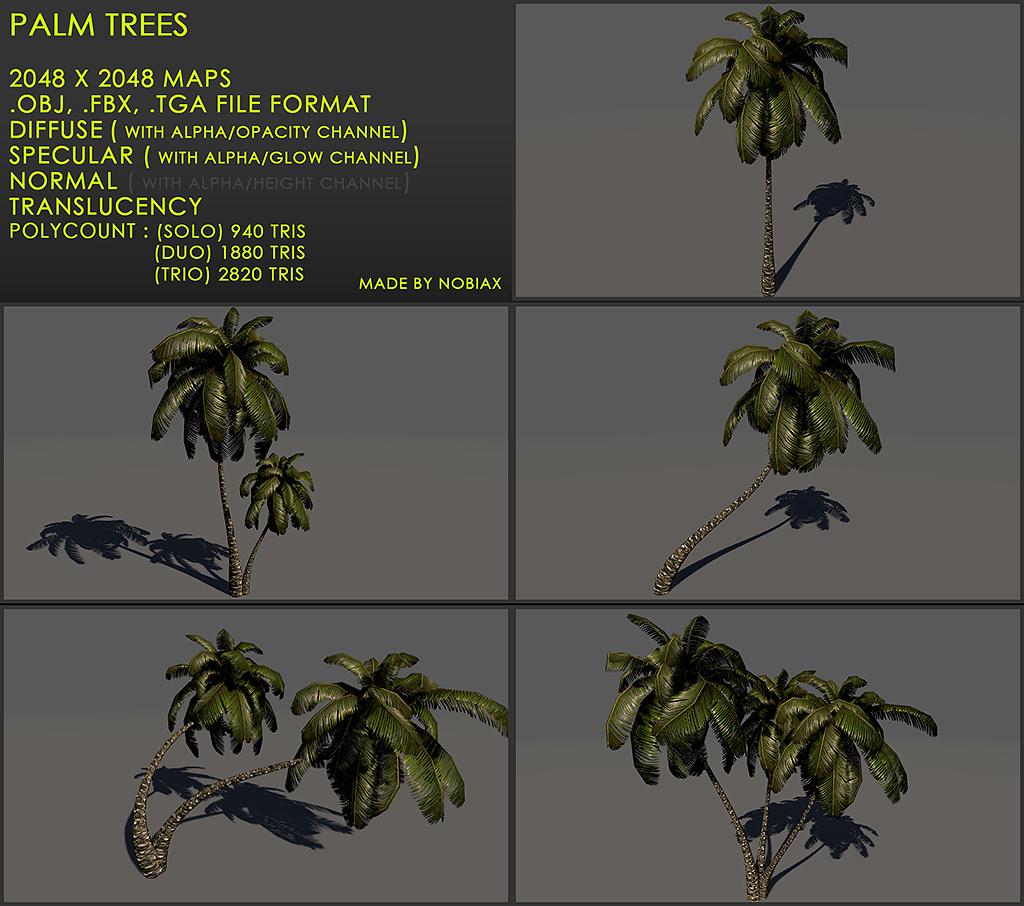 Free palm treeZ v3