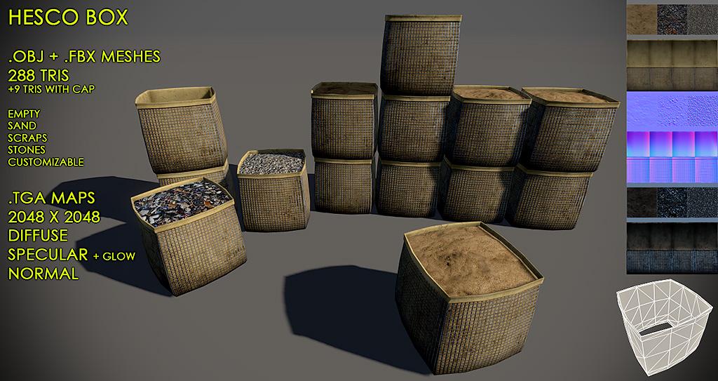 Hesco box