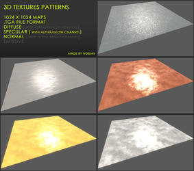 Free 3D textures pack 28
