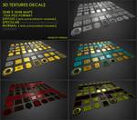Free decals 01 : Sci-Fi