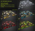 Free Decals 02 : Sci-Fi