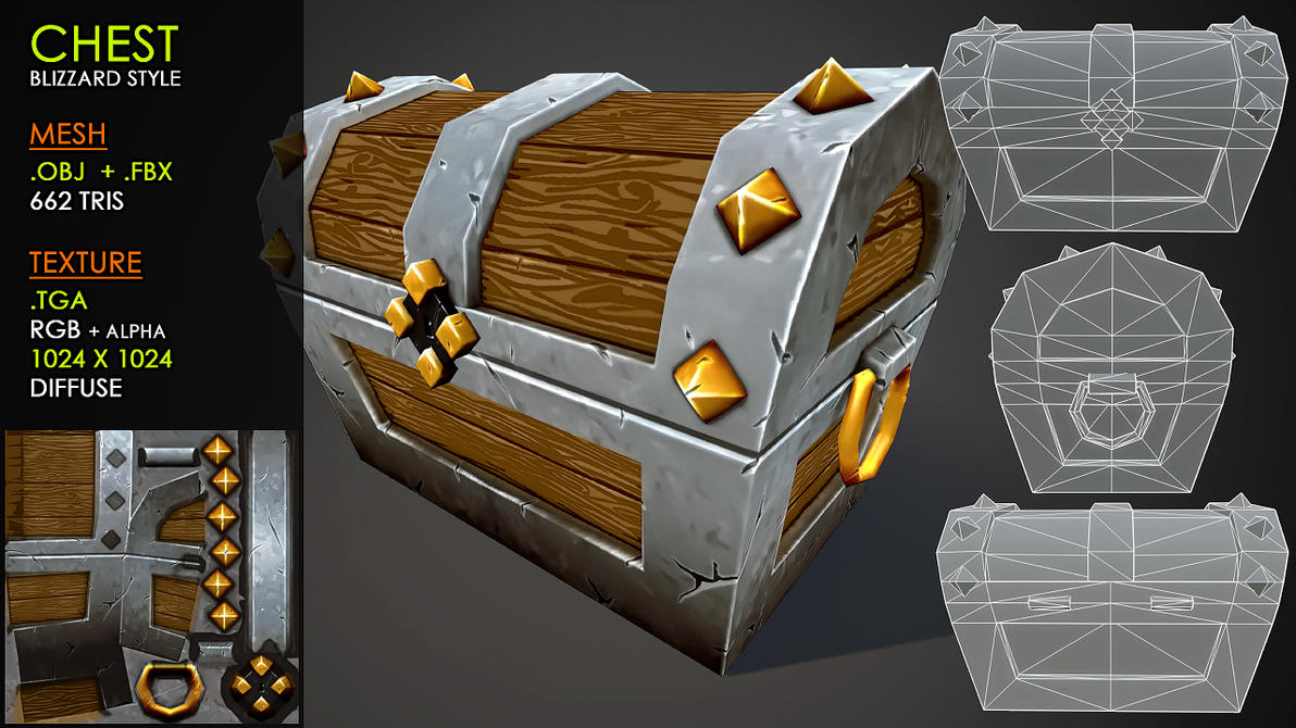 Free Chest: Blizzard style by Nobiax