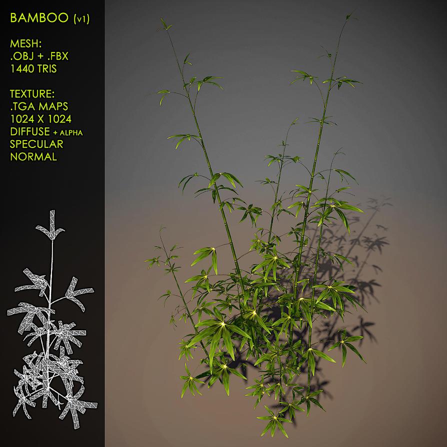 Free Bamboo v1 by Nobiax