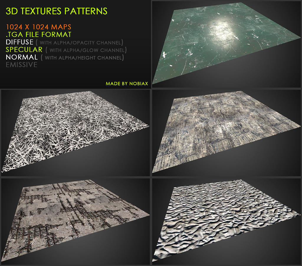 Free textures pack 36 by Yughues