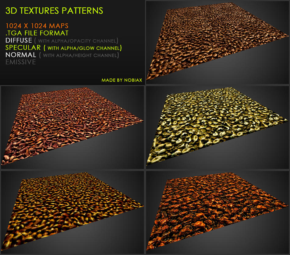 Free textures pack 37 by Nobiax