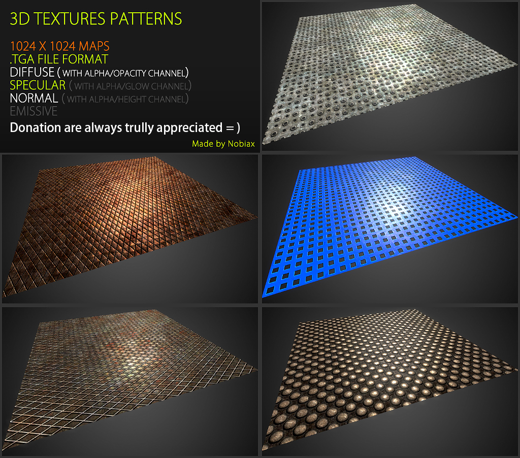 Free textures pack 48
