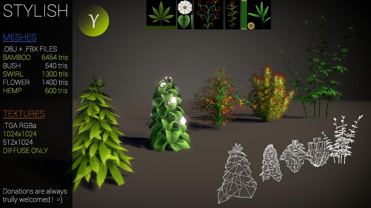 Stylish plants by Nobiax
