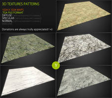 Free textures pack 53 by Yughues