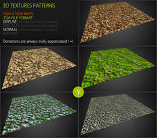 Free Textures Pack 61 by Yughues