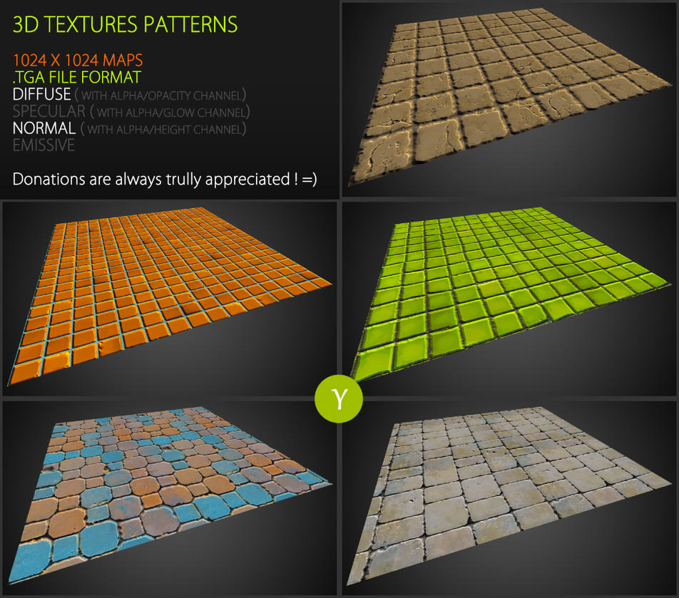 Free Textures Pack 63 by Yughues
