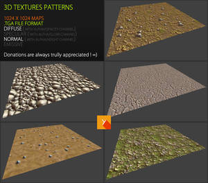 Free Textures Pack 64