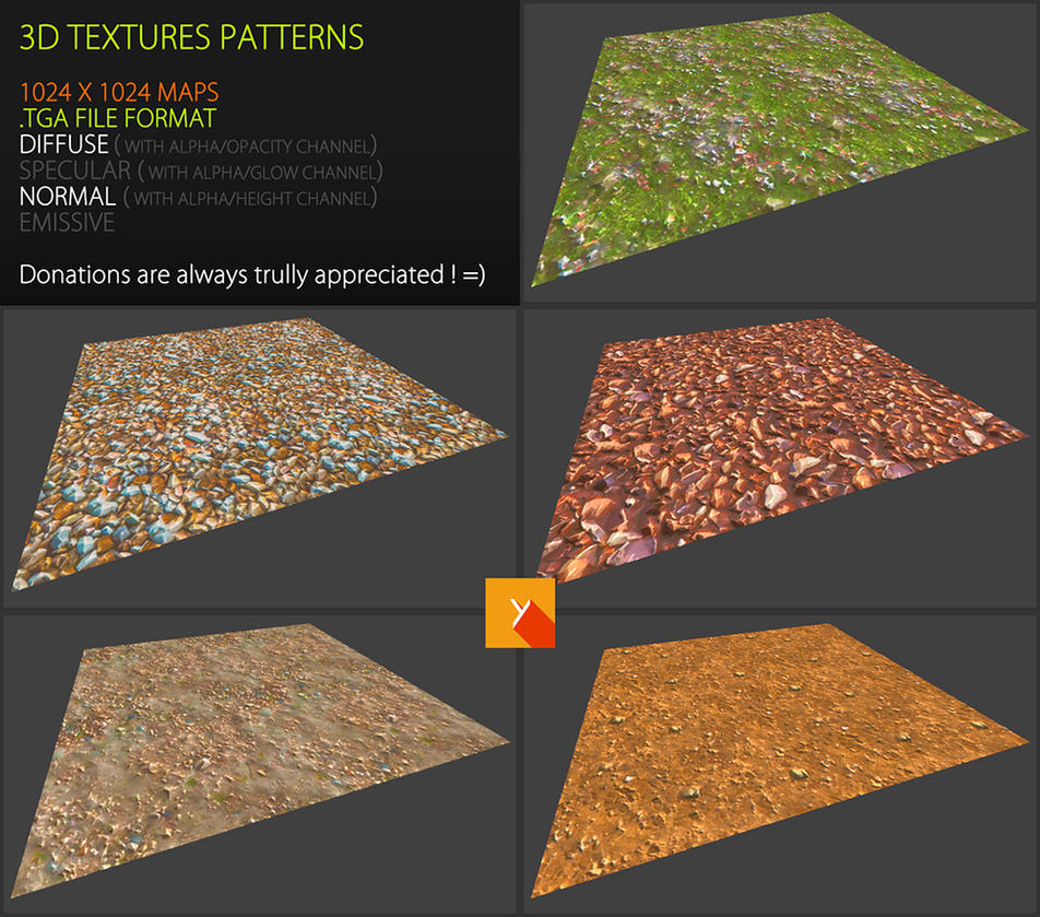 Free textures pack 66 by Yughues
