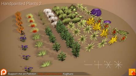 [Free] HandPainted Plants 2