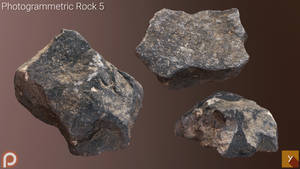 [Free] Photogrammetric Rock 5 by Yughues