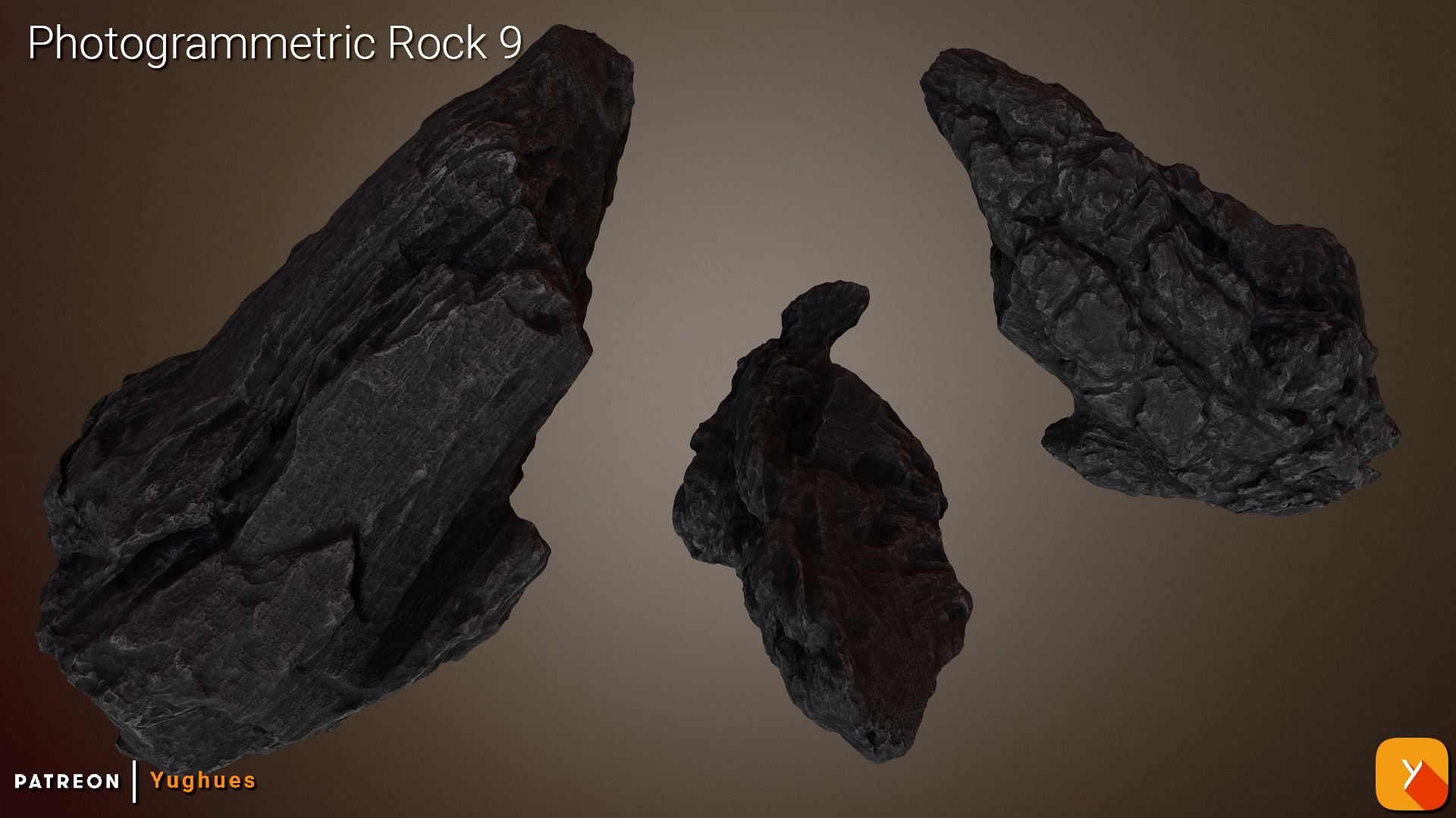 [Free] Photogrammetric Rock 9
