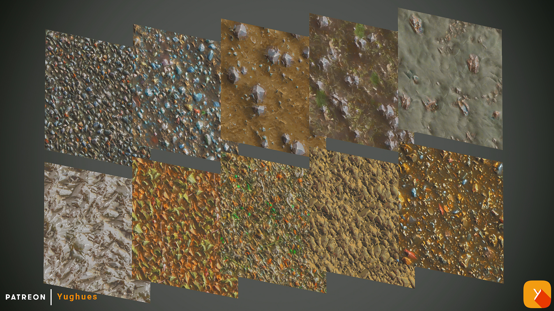 Free Textures Pack 67 by Yughues