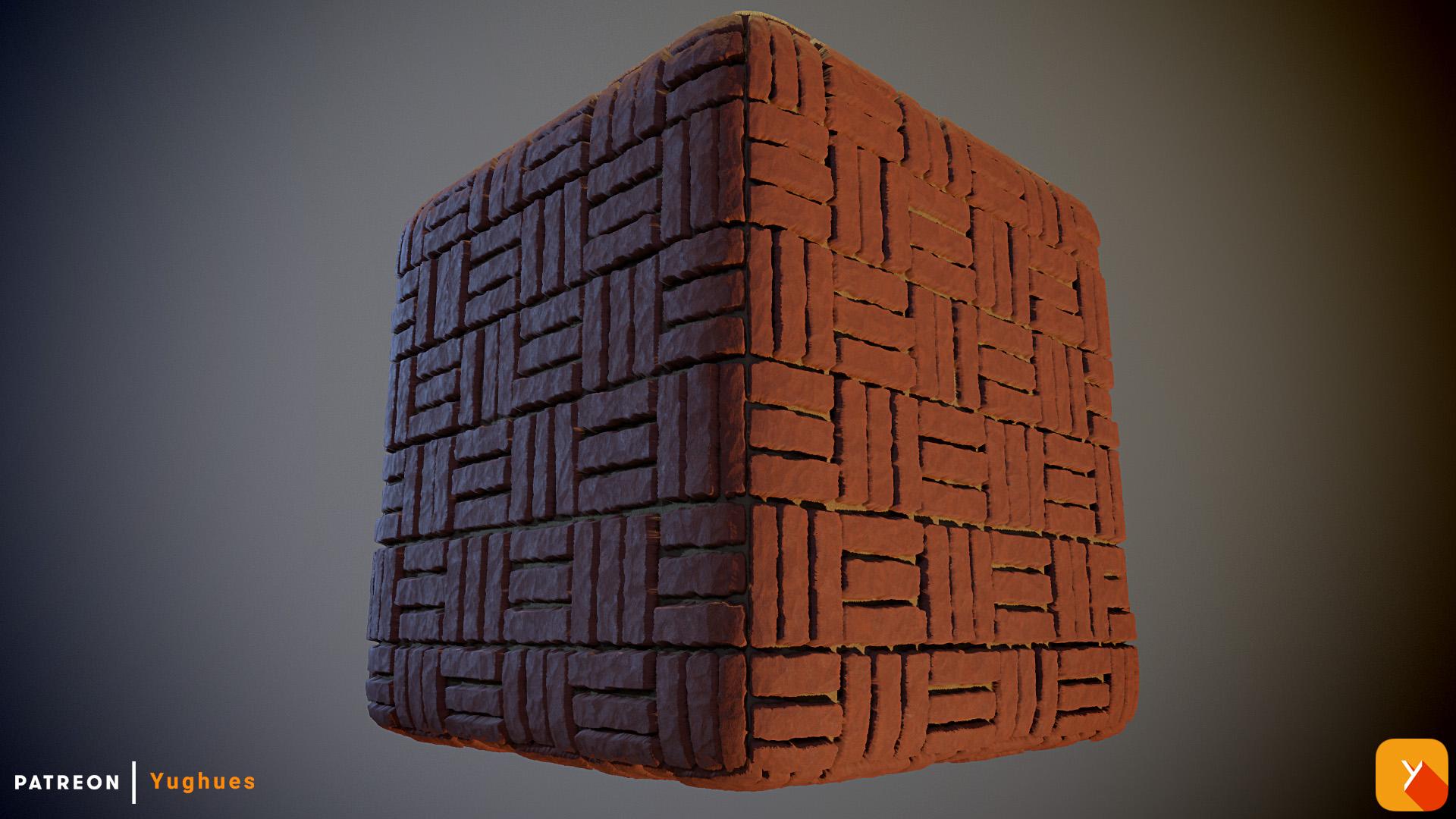[Free] Bricks Texture by Yughues