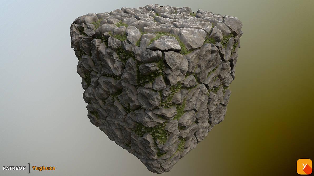 [Free] Yughues Rocks Texture by Yughues