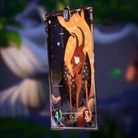 Tarot Card Star Animation