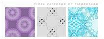 Pixel patterns by memoriesgrow