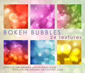 Bokeh Bubbles Icon Textures by alien-dreams