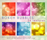 Bokeh Bubbles Icon Textures