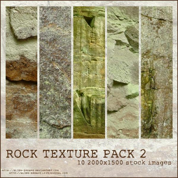 Rock Texture Pack 2 by alien-dreams