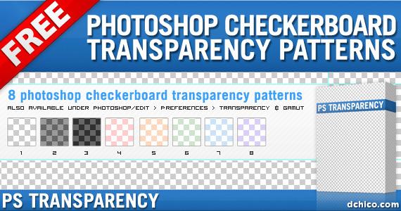 Photoshop Transparency Pattern